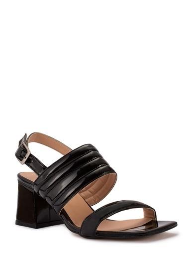 Sole Sisters Kısa Topuklu Sandalet Siyah - Aurora Siyah